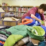 Students in Norfolk, NE receive coats in addition food.