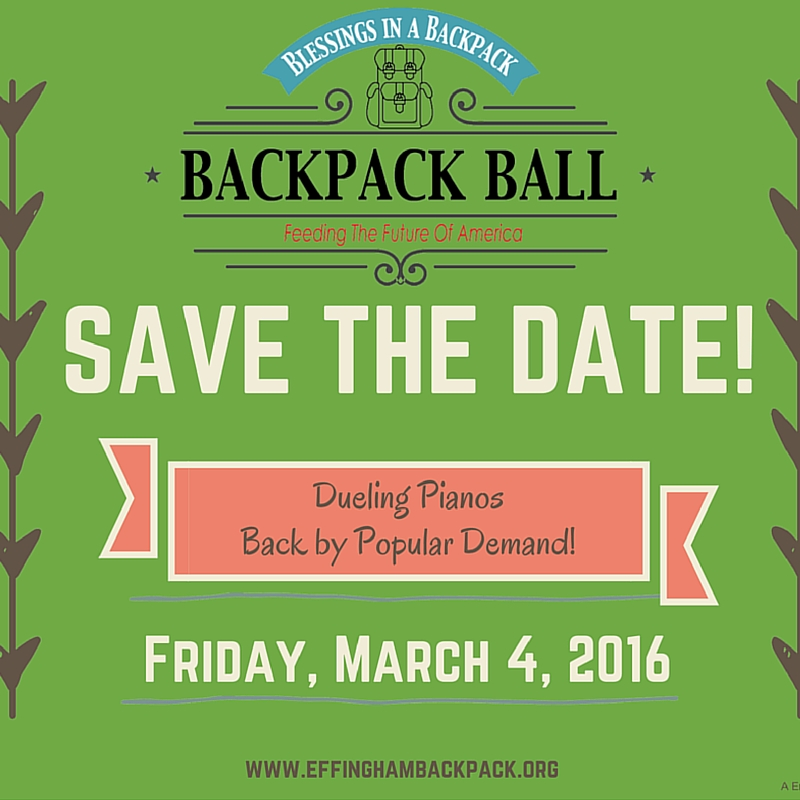 2nd Annual Blessings in a Backpack Ball