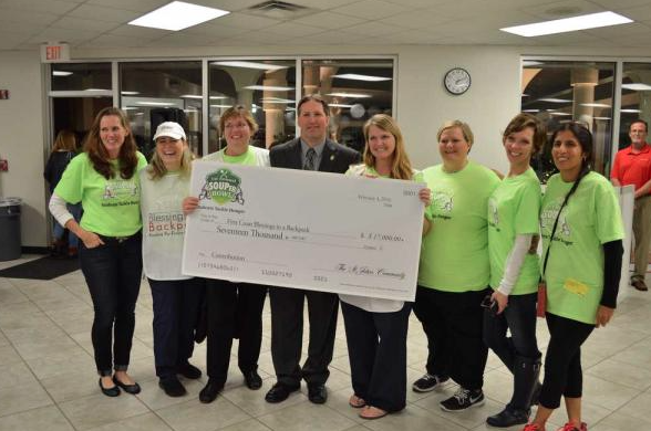 Nease and Valley Ridge students raise $20,000 for Blessings in a Backpack