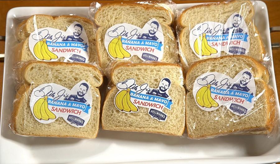 Going bananas for Dale Earnhardt Jr.