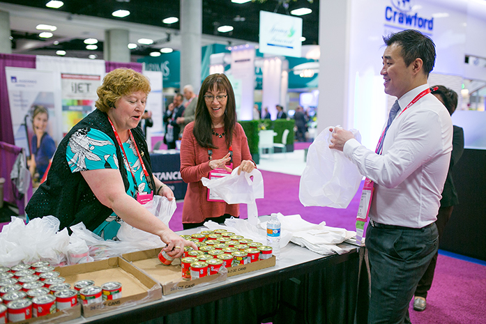 Convention Attendees Give Back Through Donations, Community Service