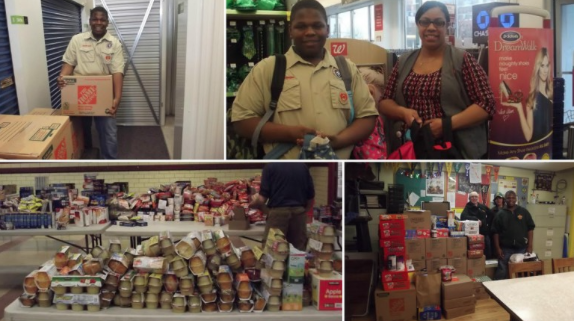 Lincoln Park H.S. Student Helps Feed Hungry Kids Over Summer Break