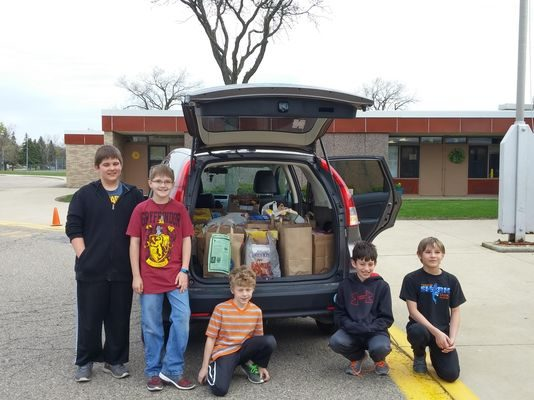 Livonia cereal drive