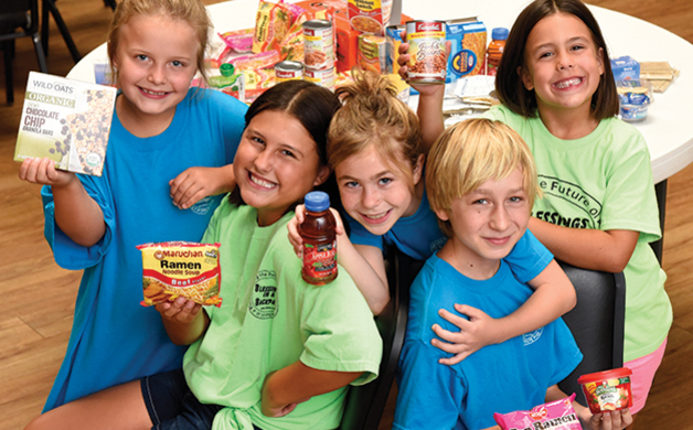 Blessings in a Backpack Assisting the Folsom-Cordova Unified School District