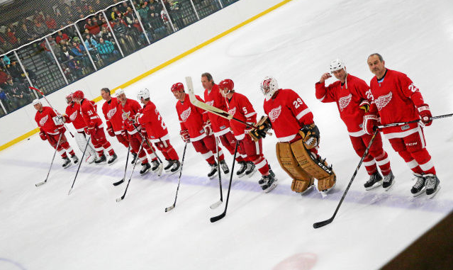 Red Wings Alumni return to Wyandotte Jan. 21 for annual Blessings in a Backpack fundraiser