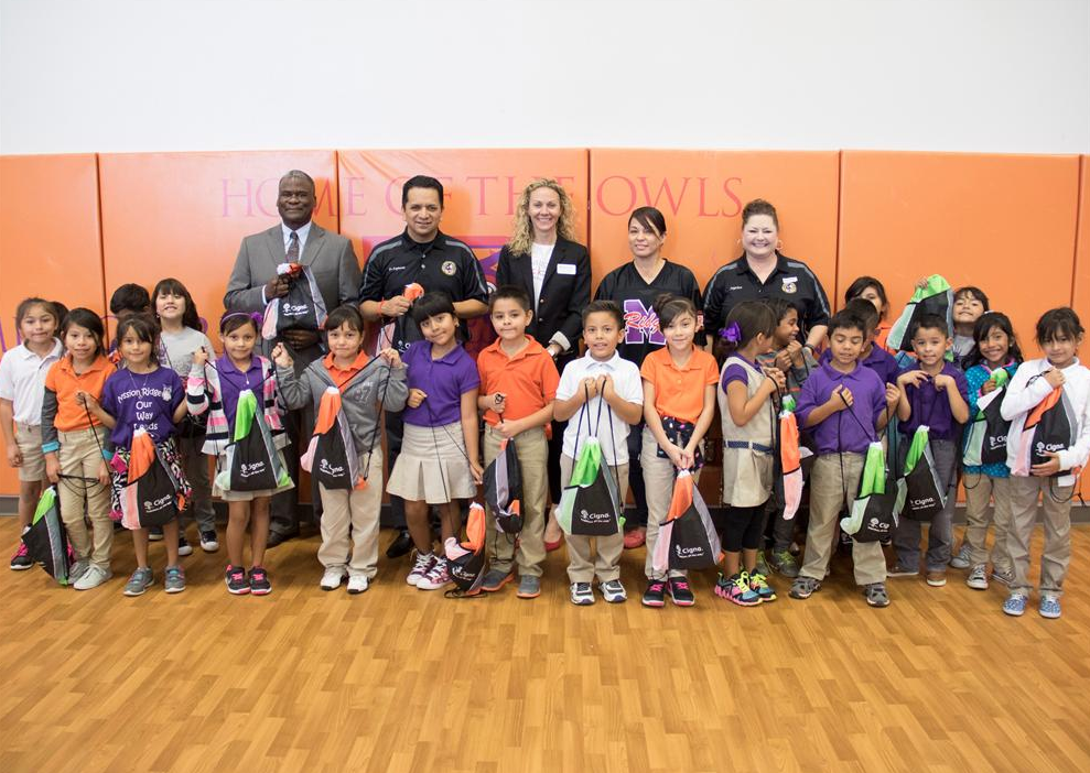 Blessings in a Backpack benefit Mission Ridge Students