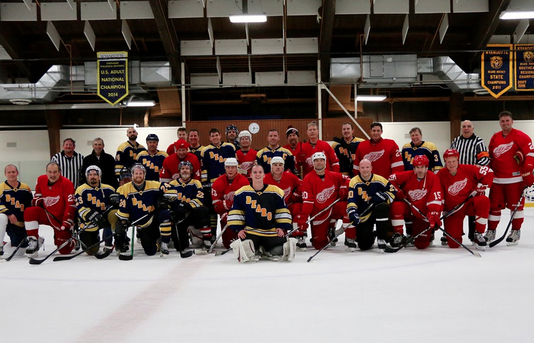 Charity hockey game nets record $20,000 for Wyandotte Program