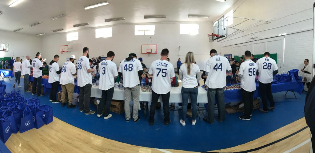 Los Angeles Dodgers Hit Hunger Out of the Park