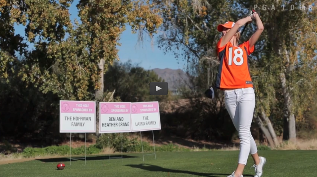 PGA TOUR wives tee it up for Blessings in a Backpack