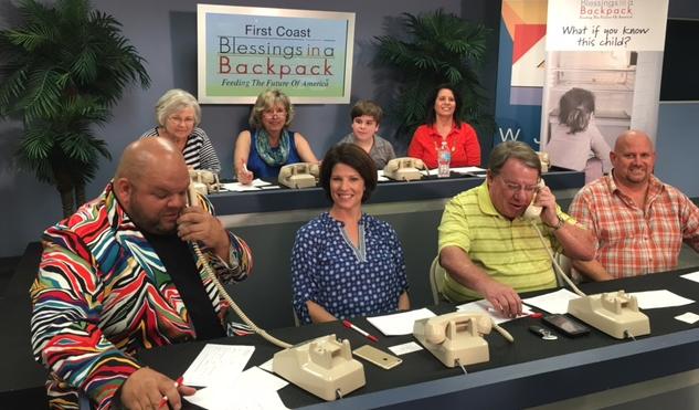Phone Bank raises $8,600 for children in NE Florida