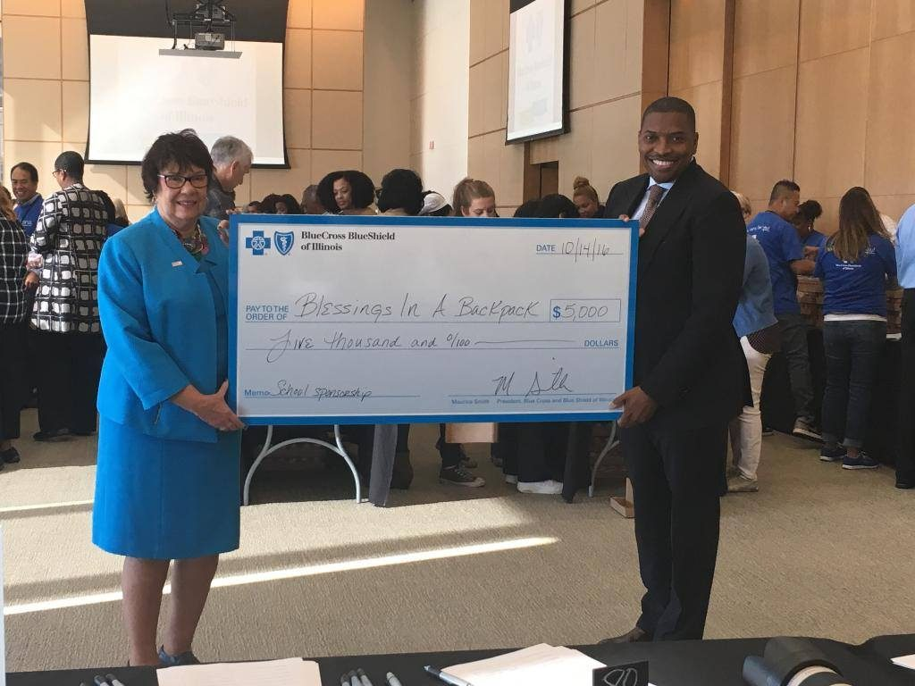 Blue Cross and Blue Shield of Illinois Gives Back!