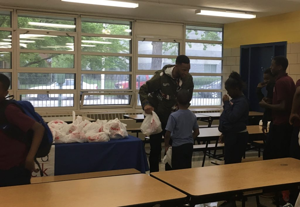 NBA Star Evan Turner Visits Students on the Chicago's West Side