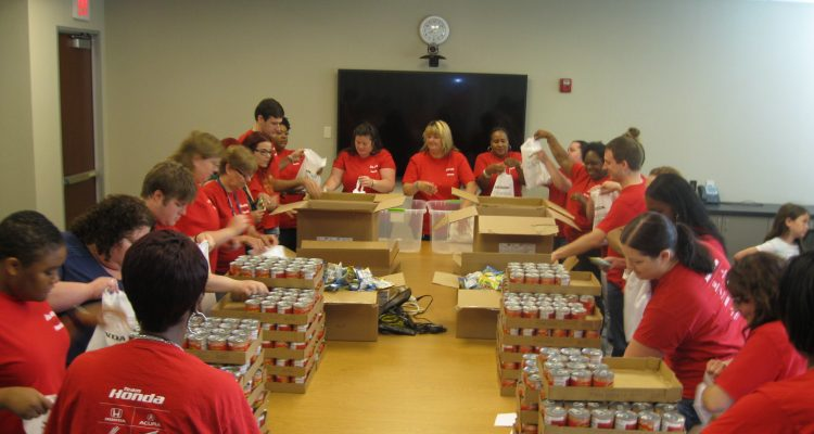 American Honda Finance Corporation Joins BIB To Provide 6000 Hunger Free Weekends For Children In The USA