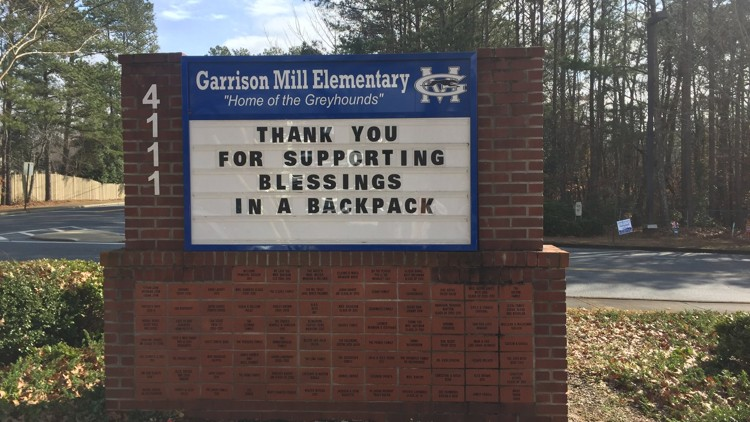 Holiday Blessings in a Backpack Delivered to Children in Atlanta