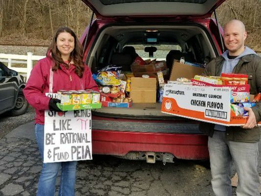 W. Va. teachers packed lunches for their needy students before going on strike