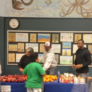 Randall Cobb provides weekends food for kids