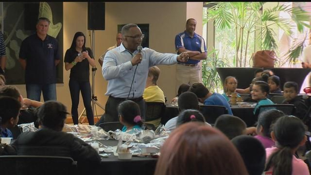 Breakfast of Champions: Professional athletes give back to SWFL