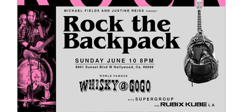 'Rock the Backpack' hosted by HAL SPARKS and OSCAR NUNEZ supports LA programs