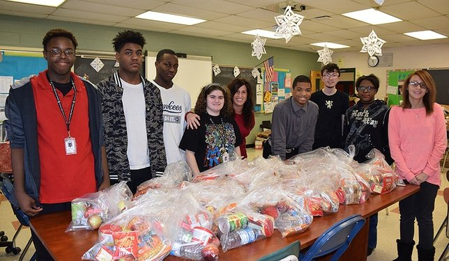 William Floyd Students Making a Difference in School and Community