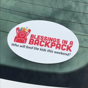 Blessings Oval Stickers