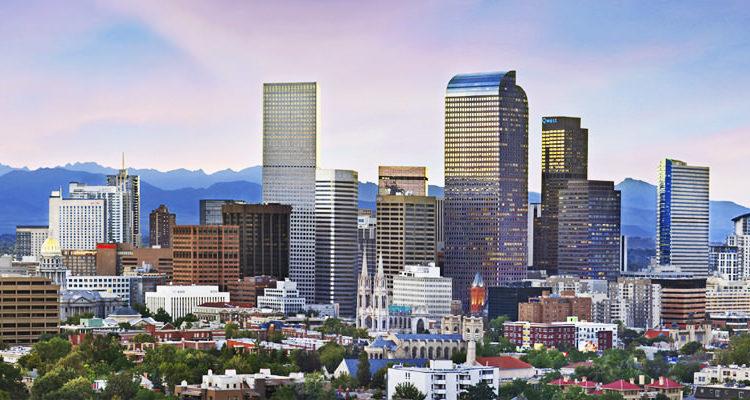 Denver Skyline Blessings In A Backpack