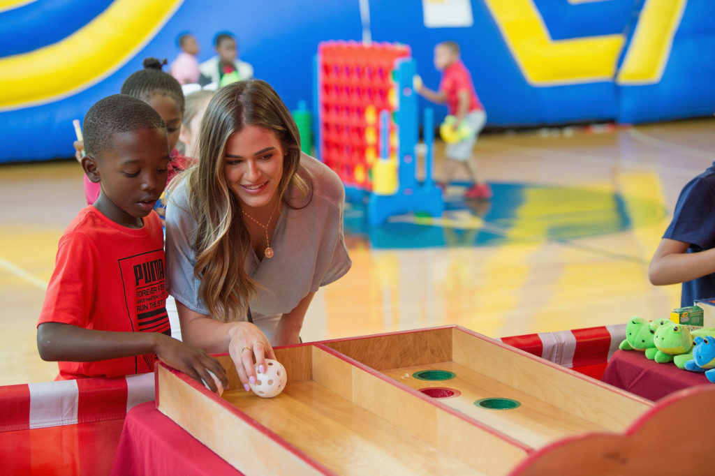 Vera Bradley + JoJo Fletcher Surprise Dallas Kids with New Backpacks and Carnival