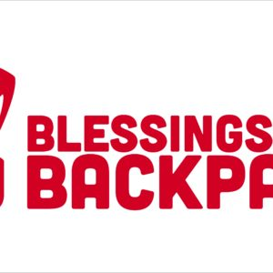 Blessings in a Backpack Vinyl Banner