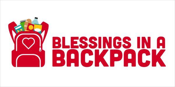 Blessings in a Backpack Vinyl Banner