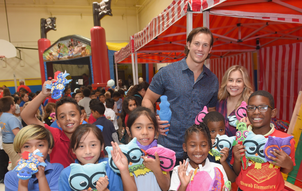 Vera Bradley + Shawn Johnson East Partner To Bring Backpacks & Carnival to Chicago Kids