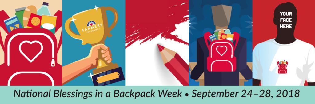 National Blessings in a Backpack Week Recap