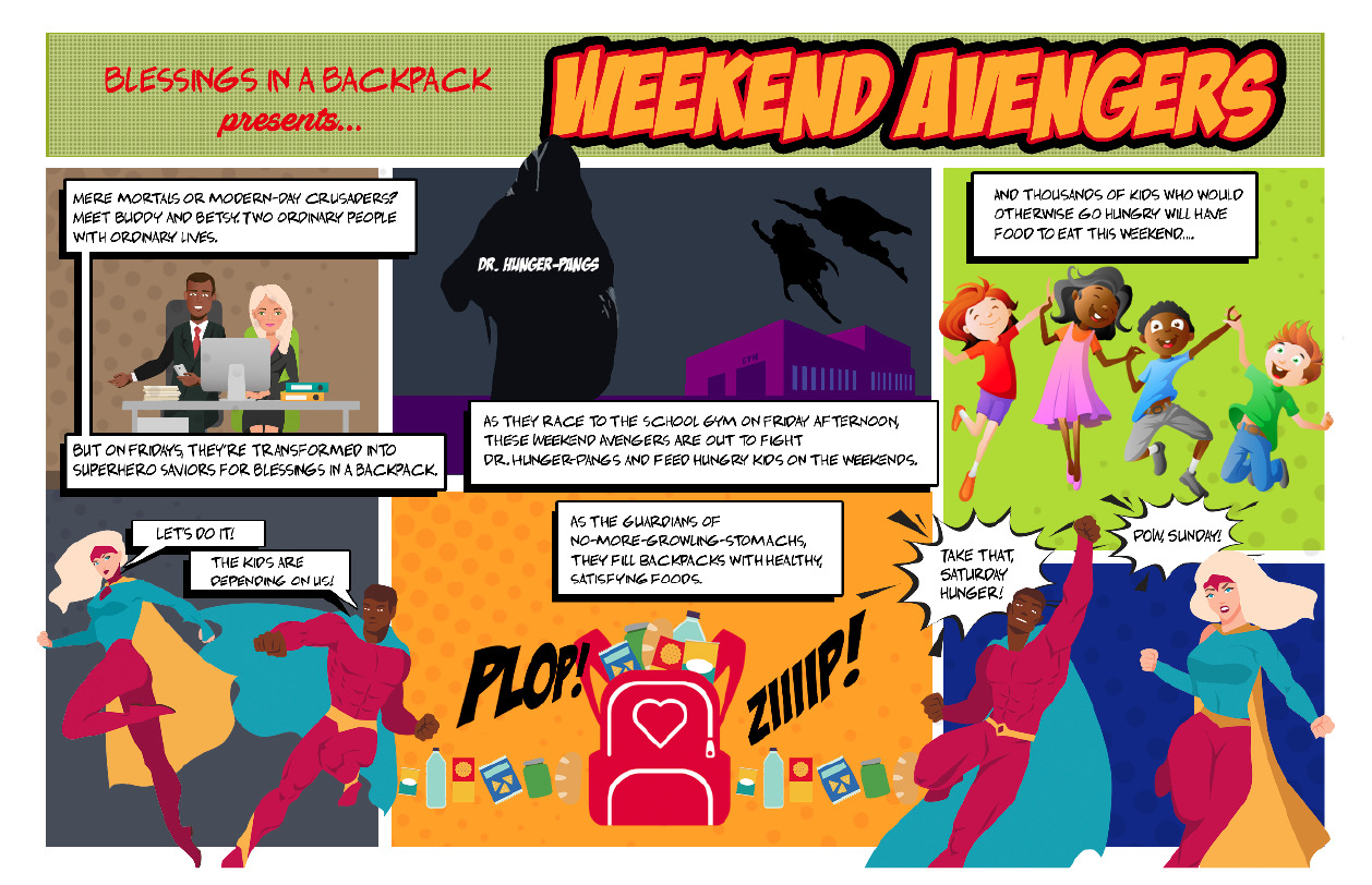 Introducing the Weekend Avengers