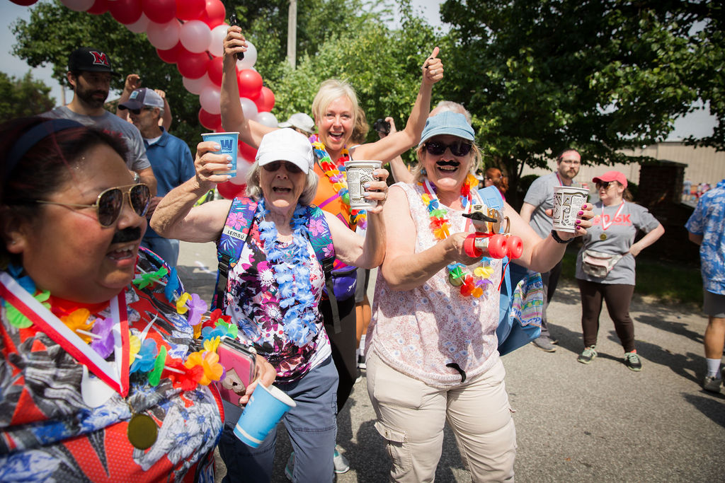 Runners have fun at 0.5k In Louisville