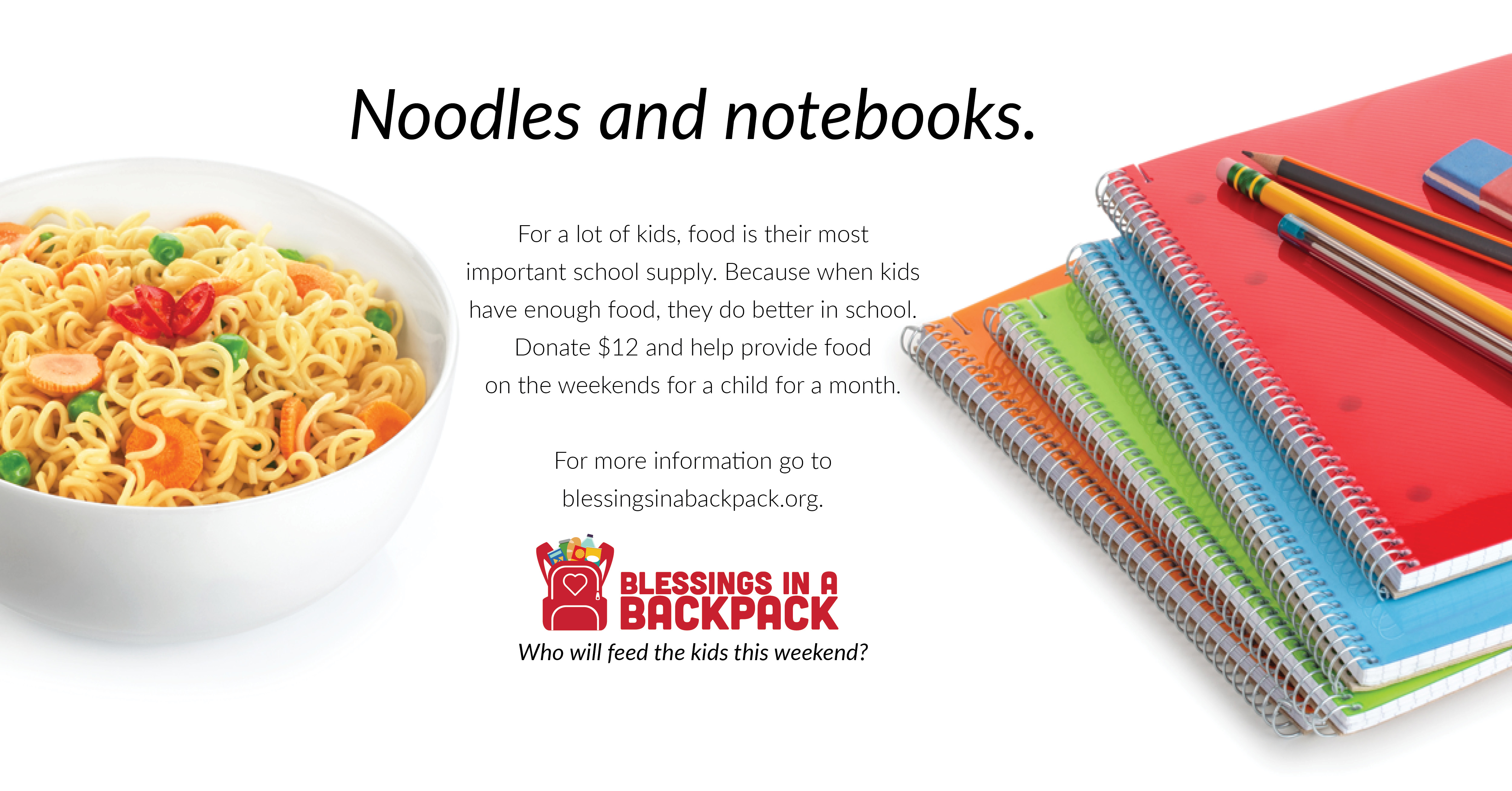 Noodles and Notebooks