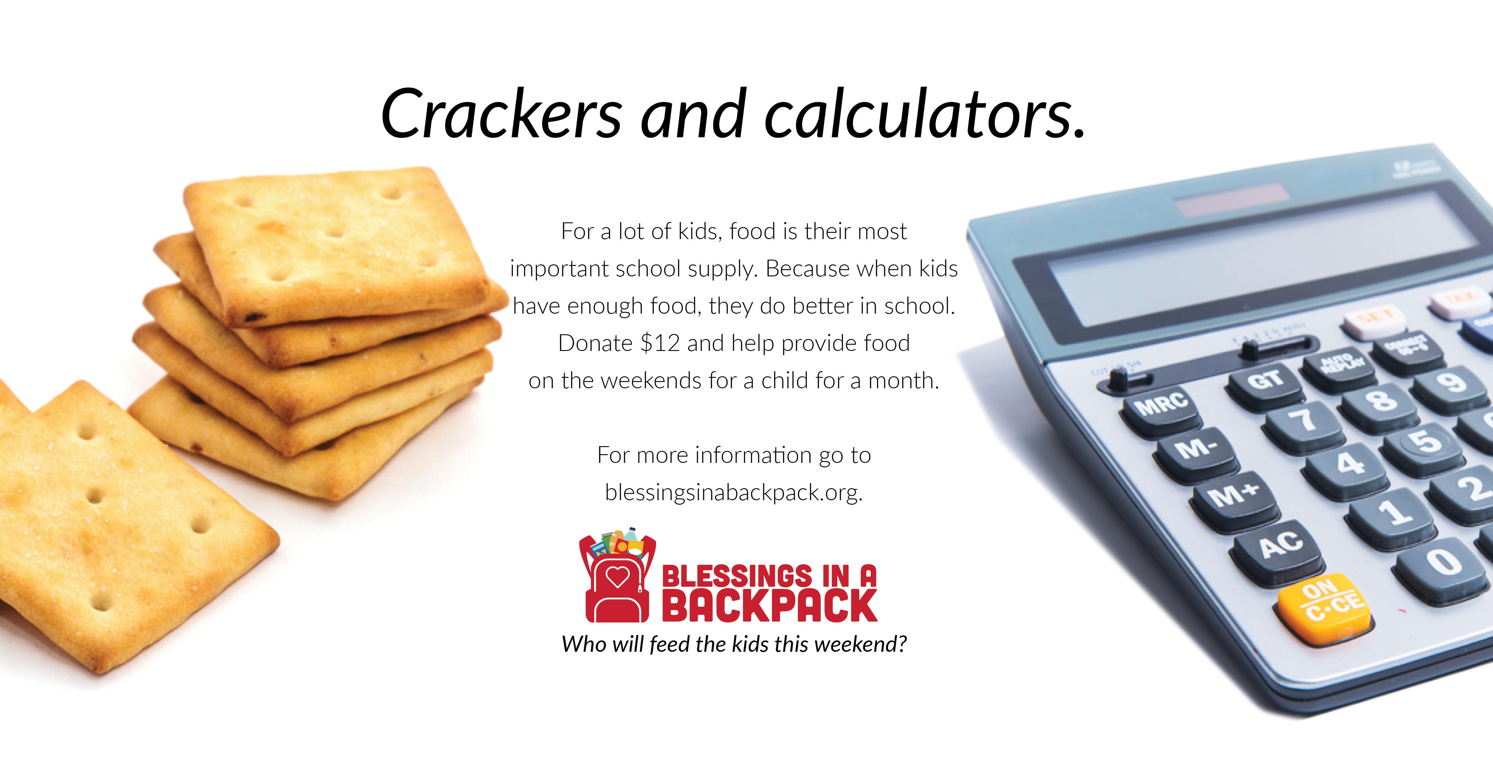 Crackers and Calculators