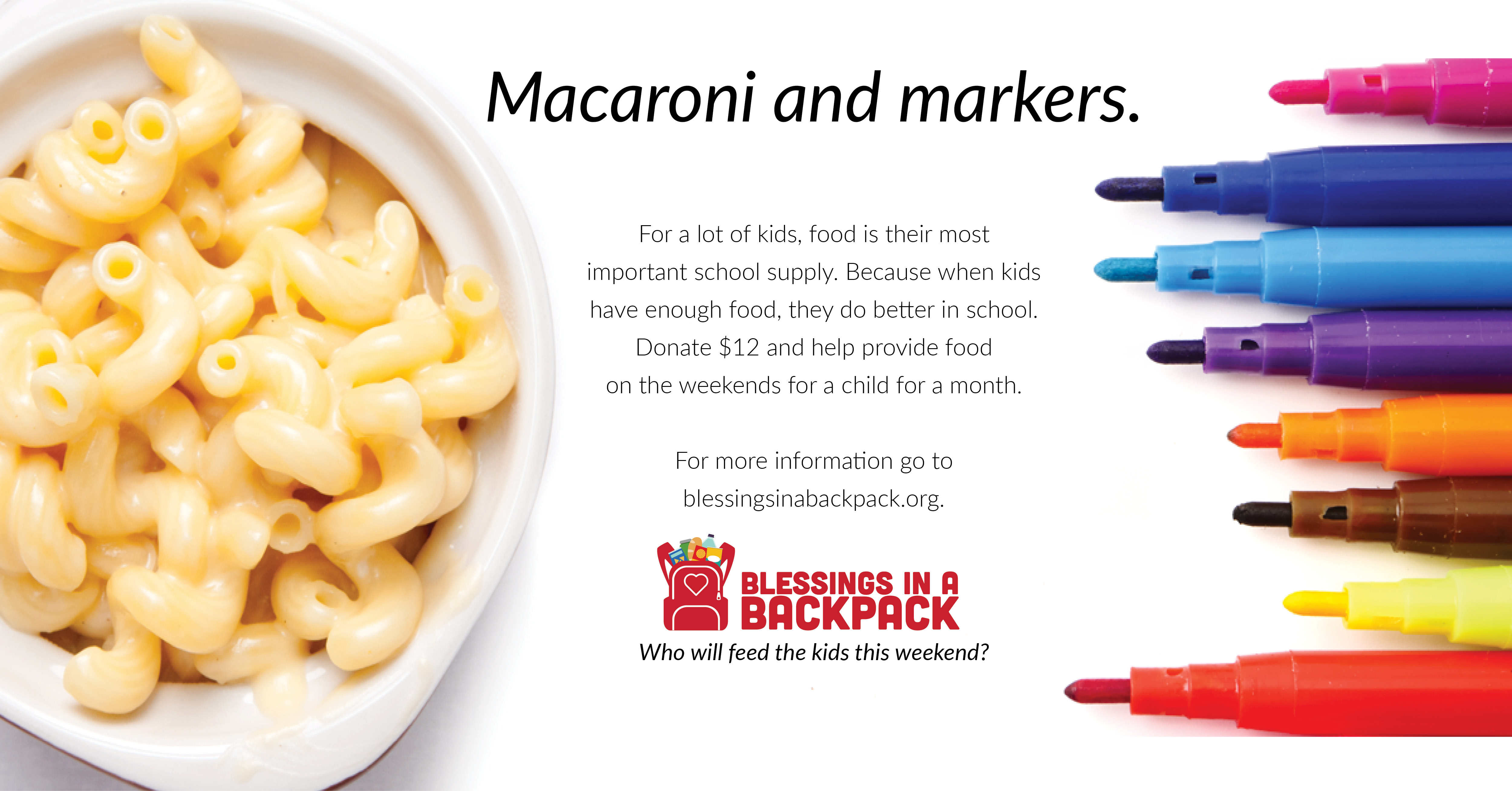 Macaroni and Markers