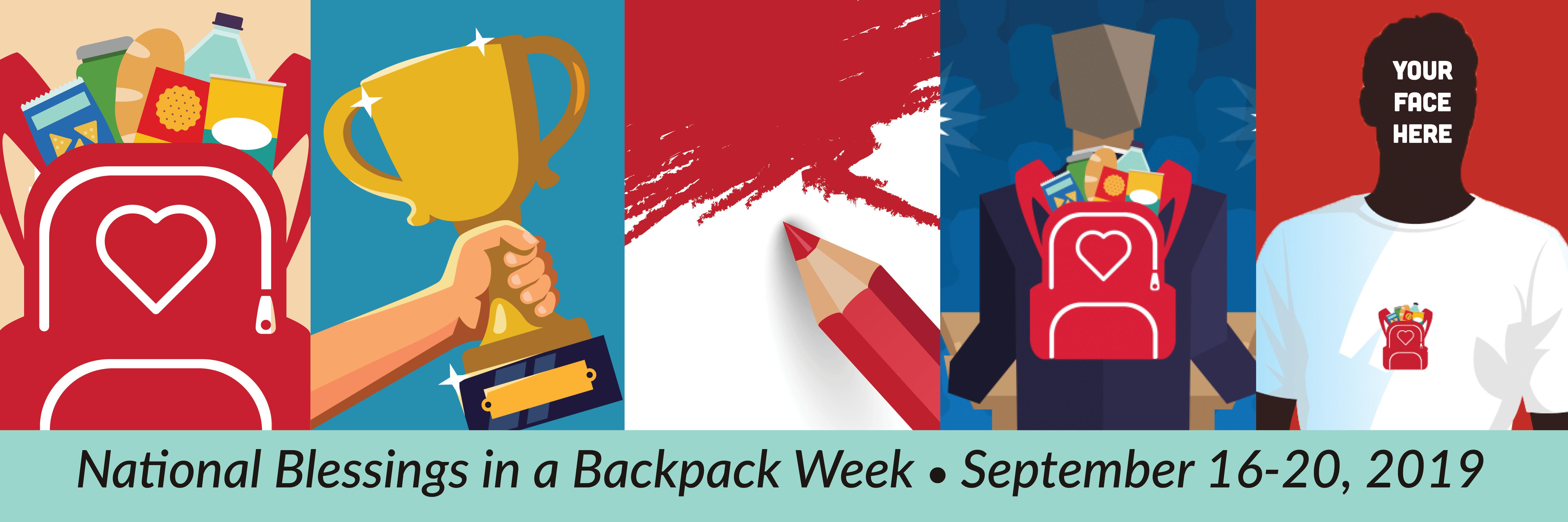 National Blessings in a Backpack Week