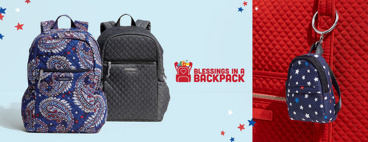 Vera Bradley Partners with Blessings in a Backpack