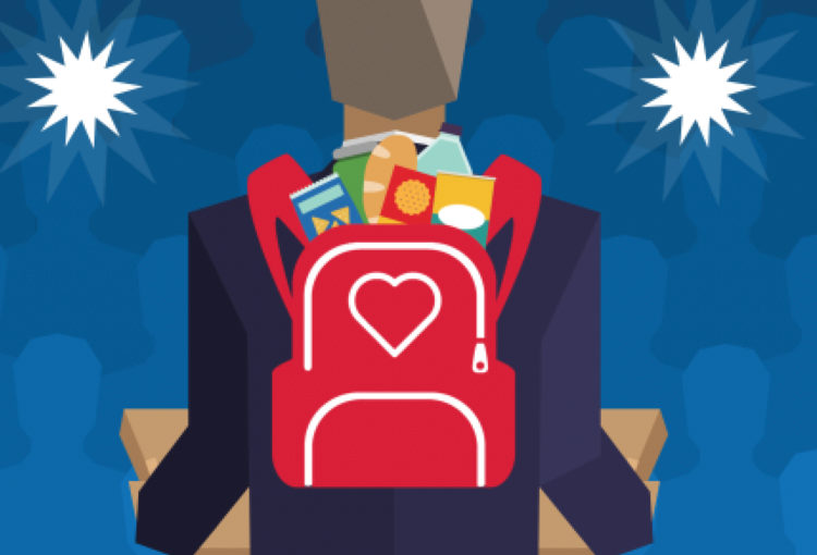 National Blessings in a Backpack Day Thursday