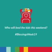 Who will feed the kids this weekend?