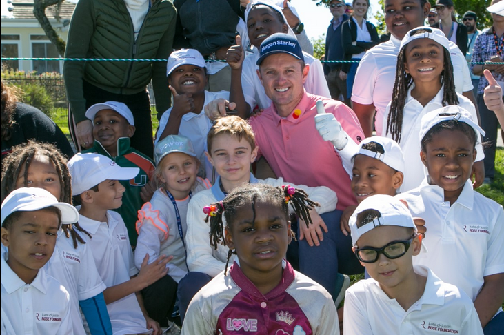 PGA TOUR'S Justin Rose and wife Kate invest in Orlando Youth by starting local chapter of Blessings in a Backpack