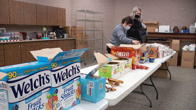 Blessings in a Backpack feeds West Jordan students for the weekend