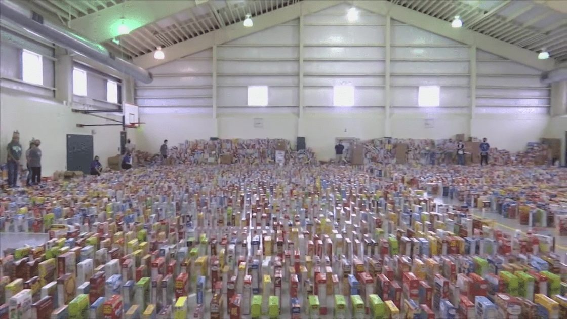 """Bay District Schools holds """"cereal run"""" in honor of district member that passed away"""