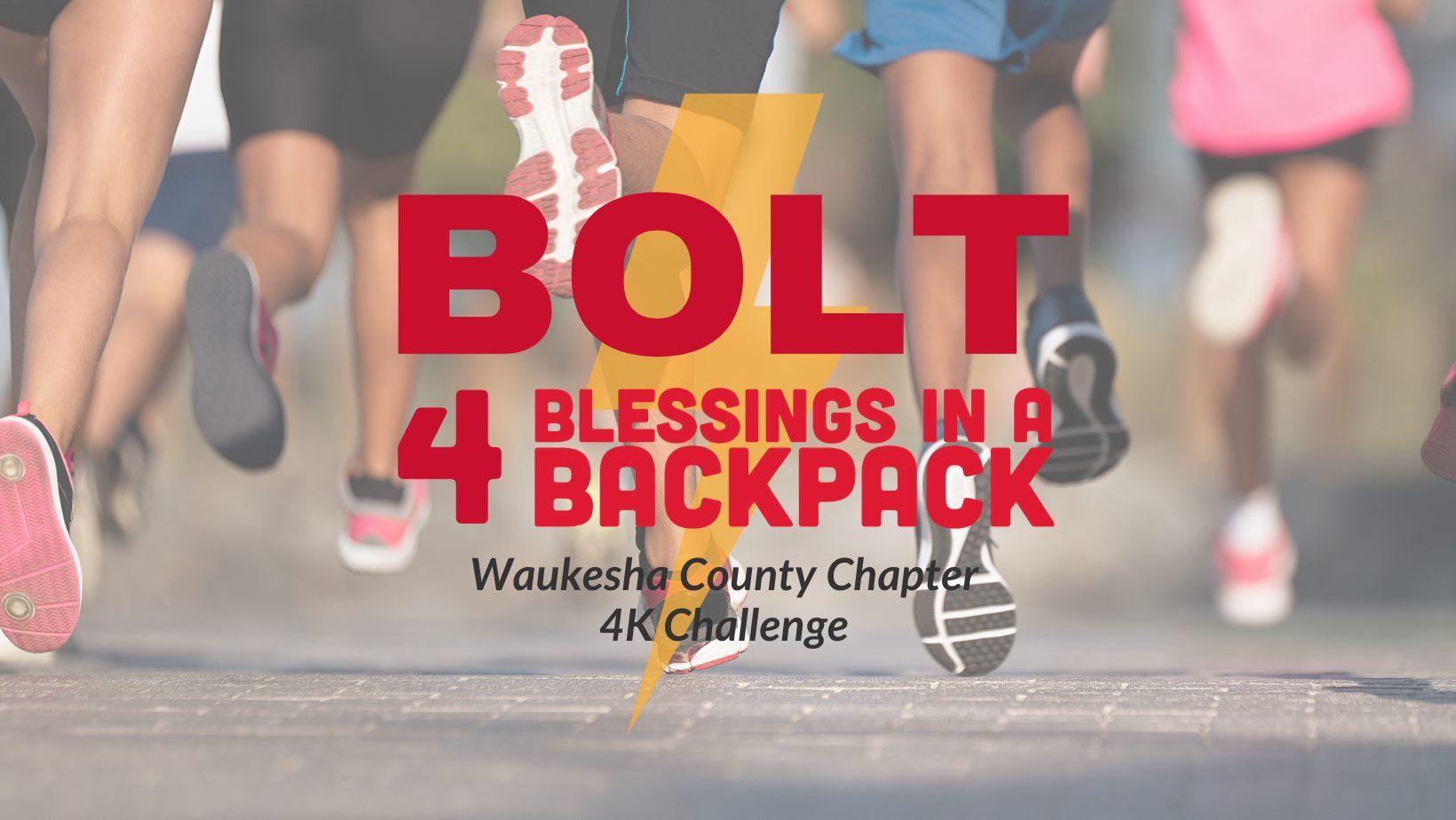 Bolt 4 Blessings 4K Challenge Raised $19,000 to Feed Waukesha Kids