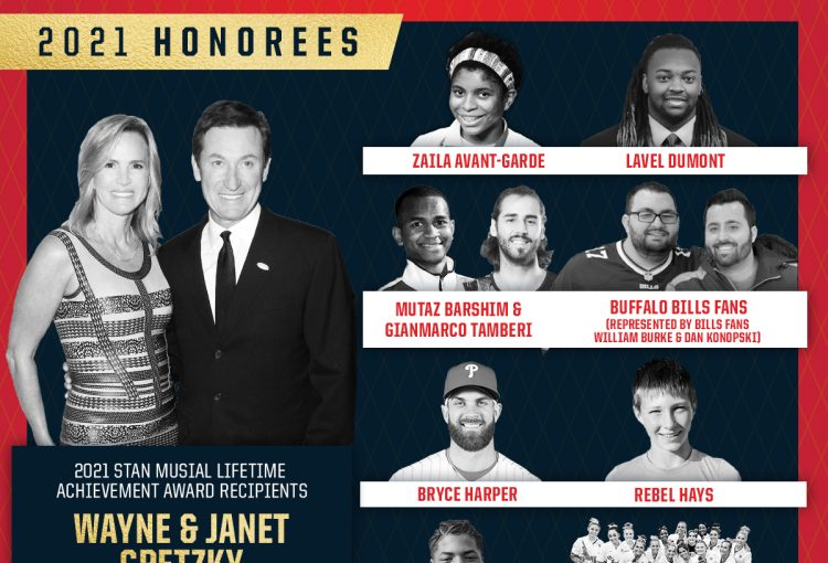 St. Louis Sports Commission Announces Recipients of the 2021 Musial Awards