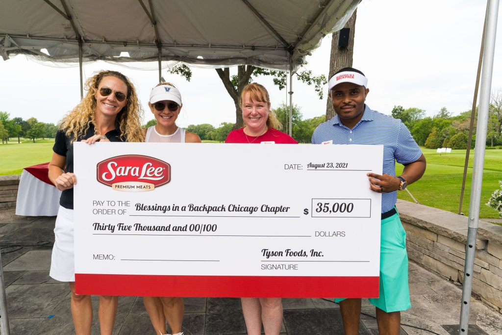 Sara Lee® Brand Gift to Chicago Blessings Will Provide 48,000 Meals for Local Kids